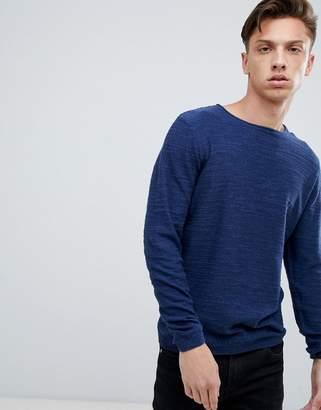 Tokyo Laundry Raw Neck Slub Lightweight Sweater