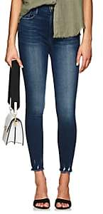 Frame Women's Ali High Rise Skinny Jeans-Md. Blue