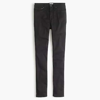 "9"" High-Rise Stretchy Toothpick Jean In New Black"