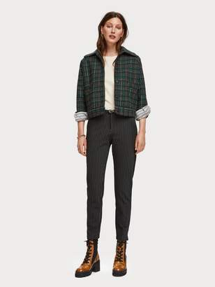 Scotch & Soda Pinstripe Trousers