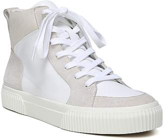 Vince Women's Kiles Suede & Leather High Top Lace Up Sneakers