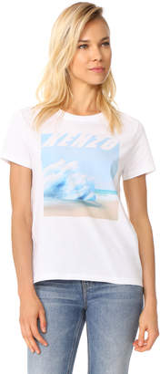 KENZO Landscape Straight T-Shirt $145 thestylecure.com