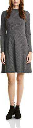 Womens Small Dessin Stand-up Collar Dress Street One EQThbX
