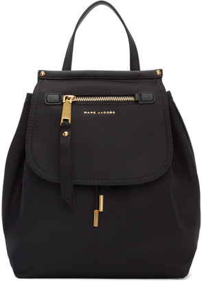 Marc Jacobs Black Trooper Backpack $275 thestylecure.com