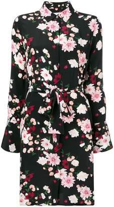 Equipment floral-print shirt dress