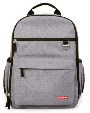SKIP*HOP® DUO Diaper Backpack in Heather Grey $64.99 thestylecure.com