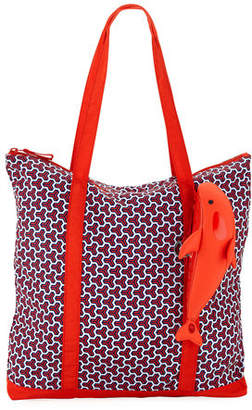 Tory Sport Packable Orca Printed Tote Bag