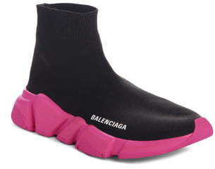 Balenciaga Mid Speed Lace-Up Sneaker