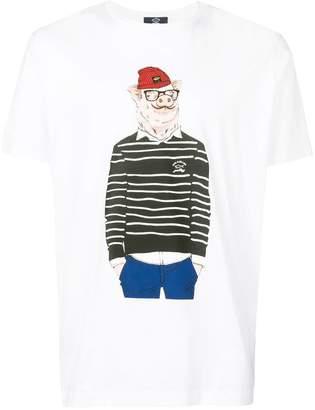 Paul & Shark graphic print T-shirt