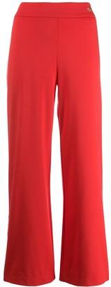 Class Roberto Cavalli wide leg track pants