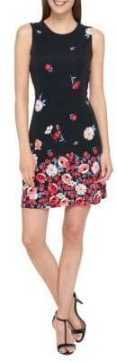 Tommy Hilfiger Madrid Floral Jersey Sheath Dress