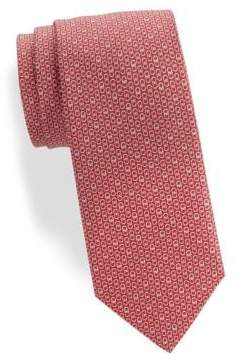 Salvatore Ferragamo Interlock Gancini Silk Tie