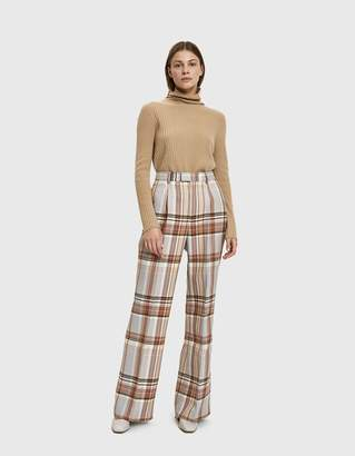 Acne Studios Plaid Wool Trouser