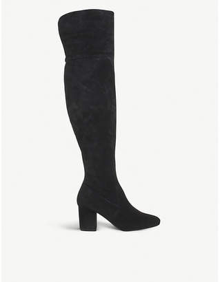 Office Krissy suede over-the-knee boots