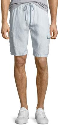 Vince Men's Hemp Drawstring Cargo Shorts