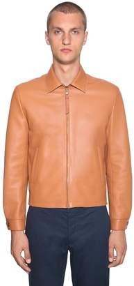 Loewe Reversible Leather Bomber Jacket