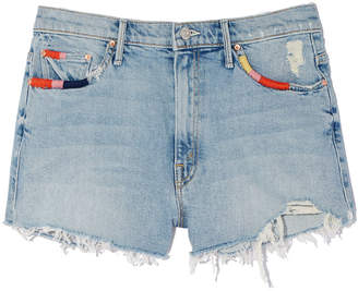 Mother Easy Does It Jean Shorts