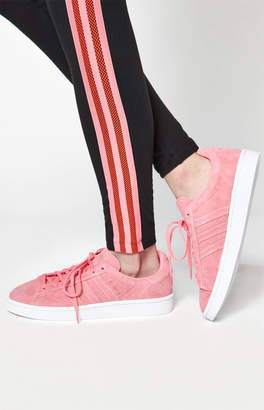 adidas Women's Pink Campus Stitch And Turn Sneakers