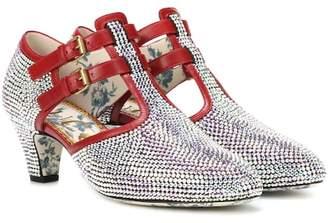 Gucci Crystal-embellished pumps
