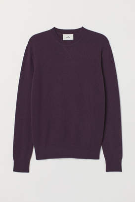 H&M Cashmere Sweater - Purple
