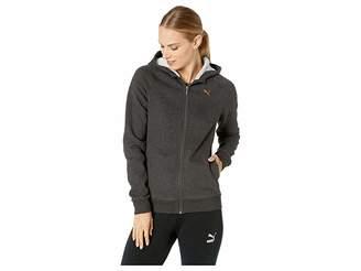 Puma Athletic Full Zip Fleece Hoodie