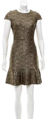 MICHAEL Michael Kors Metallic A-Line Dress