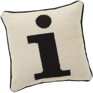 Pottery Barn Teen Alphabet Needlepoint Pillow, I