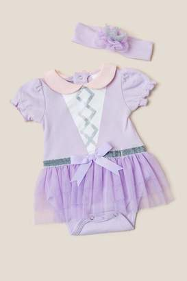 Baby Aspen My First Fairy Princess Outfit with Headband - Lavender