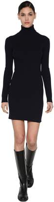 Sportmax VIRGIN WOOL BLEND KNIT MINI DRESS