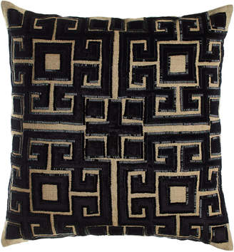 "Callisto Home 22""Sq. Beaded Doron Pillow"