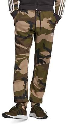 adidas Camouflage-Print Fleece Sweatpants