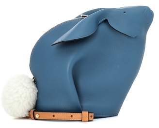 Loewe Bunny leather shoulder bag