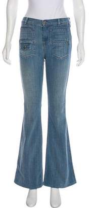 7 For All Mankind Georgia Mid-Rise Jeans w/ Tags