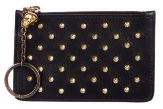 Alexander McQueen Studded Napa Leather Coin Pouch