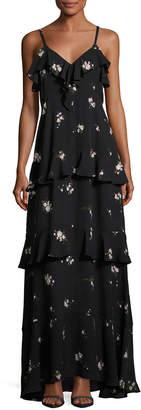 A.L.C. Zaydena Sleeveless Maxi Dress, Black