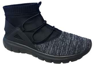Avia Women's Knit High Top Bungee Sneaker