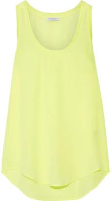 Equipment Mel Neon Washed-silk Tank - Bright yellow