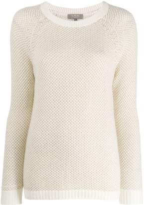 N.Peal long-sleeve fitted sweater