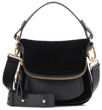 Tom Ford Small Jennifer velvet shoulder bag