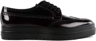 Prada Platform Brogue Shoes