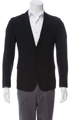 Marni Deconstructed Wool-Blend Blazer