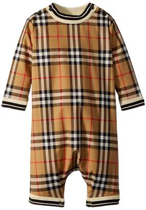Burberry Michael Long Sleeve Overalls Kid's Overalls One Piece