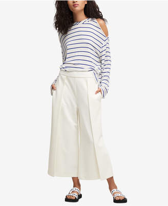 DKNY Cropped Wide-Leg Pants, Created for Macy's