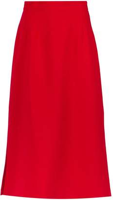 Olympiah side slits midi skirt