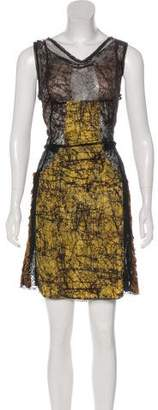 Bottega Veneta Lace Sleeveless Dress