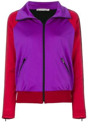 Amen colour block zip up jacket
