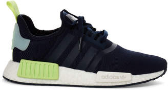 adidas Kids Boys) Navy NMD R1 Knit Low-Top Sneakers