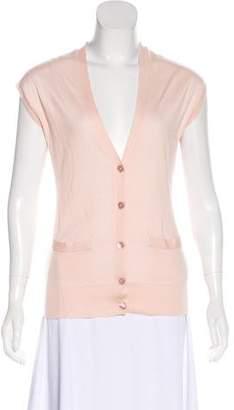 Ralph Lauren Black Label Cashmere & Silk Top