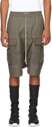 Rick Owens Grey Patagonia Cargo Pods Shorts