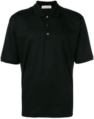 MACKINTOSH Black Cotton Polo Shirt GCS-027